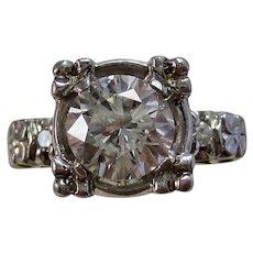 Art Deco Estate Diamond Engagement, Wedding, Anniversary, Birthstone Ring 18K