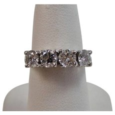 Diamond Wedding Day Anniversary Birthstone Ring Platinum