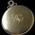 1940s CARTIER 14Kt Yellow Gold Mirror For Purse All Original