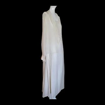 1920s Dress Day Wear Pure Silk