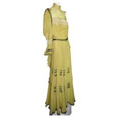 "Antique Edwardian Dress 1915 ""Easter Parade"""