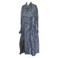 Antique Victorian Coat 1880 Silk