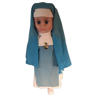 Nun Doll Society of Mary Reparatrix - Convent-Dressed