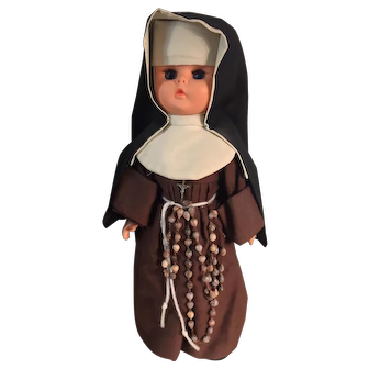 Nun Doll Poor Clare Nuns (Cloistered) - Convent-dressed
