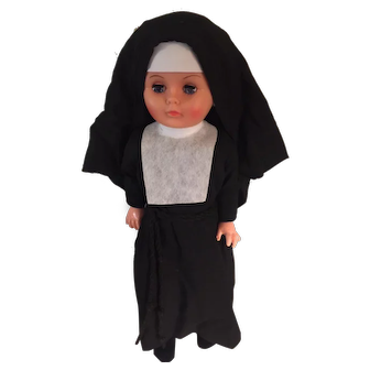 Nun Doll Society of the Divine Savior - Convent-Dressed