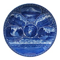 Vintage Seattle Souvenir Plate - Alaska-Yukon-Pacific Expo