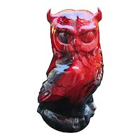 Stunning Royal Doulton Flambe Veined Great Horned Owl