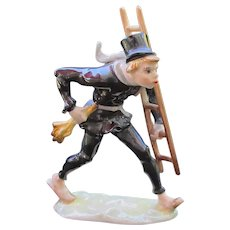 Wonderful Hutschenreuther Porcelain Chimney Sweep - Designer Karl Trotter