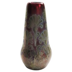 "Early 1900s Weller ""Sicardo"" Vase - 5-3/4"""