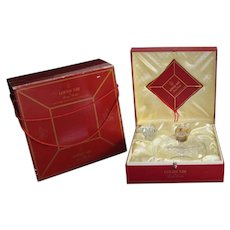 Baccarat Remy Martin Grande Champagne Cognac Bottle w/ Original Box