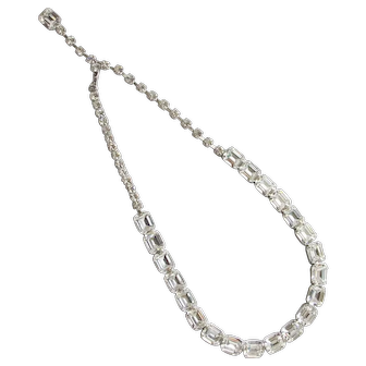 Gorgeous Weiss Rhinestone Choker Necklace