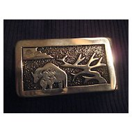 Navajo Sterling Silver Vintage Money Clip