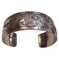 Sterling Silver Vintage Storyteller Bracelet