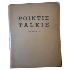 Pointie Talkie Number 5 Soldiers' Communication Guide Book
