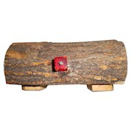 Wooden Vintage Hand Made Carved Box