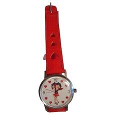 Betty Boop Vintage Watch