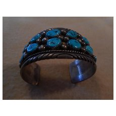 Tommy Moore Sterling Turquoise Vintage Bracelet