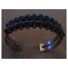 Sterling Silver Fred Harvey Era Vintage Bracelet