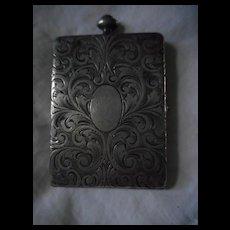 Vintage Etched Compact Case