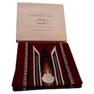 Chimayo Vintage Wool Clutch in Box
