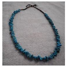Heishi Turquoise Vintage Necklace