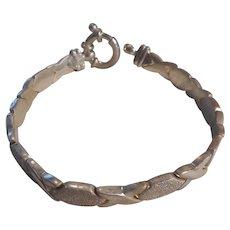 Sterling Silver Italian Link Milor Bracelet