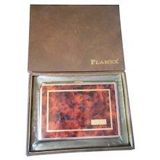 Flamex Vintage Cigarette Case and Lighter