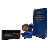Cookie Monster Mini Desk Clock