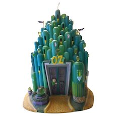 Wizard of Oz Emerald City Lighted Castle