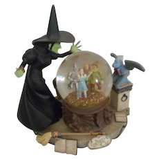 Wizard of Oz Wicked Witch Musical Snowglobe