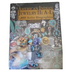 American Indian Jewelry III 2100 Artist Biographies by Gregory Schaff