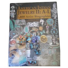American Indian Jewelry II A-L 1800 Artist Biographies
