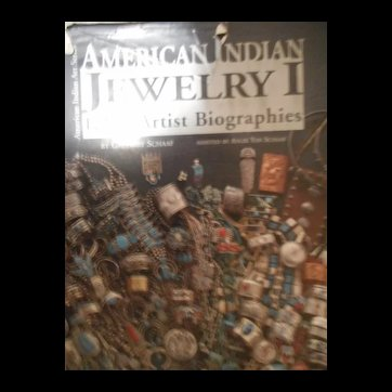 Native American Indian Jewelry I - 1200 Artist Biographies - By Gregory Schaff