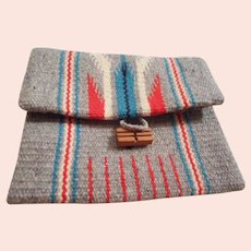 Chimayo Vintage Wool Clutch