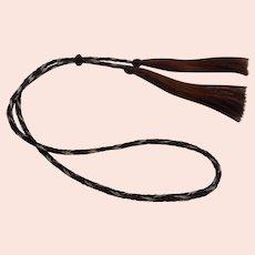 Horse Hair Vintage Braided Hat Band