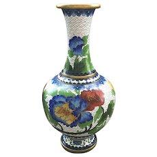 Vintage Chinese Cloisonné  Vase