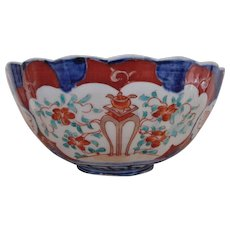 19c Japanese Imari Fruit Bowl Edo Period Asian Antique