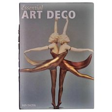 Essential Art Deco Hardcover Book by Iain Zaczek