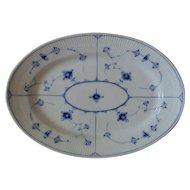 B&G Bing & Grondahl Blue Traditional Serving Platter