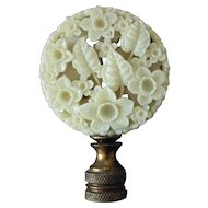 Chinese Carved Lamp Finial