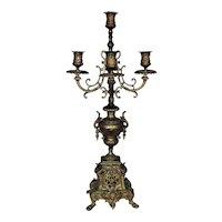 Antique Bronze Candelabra 5 Lights