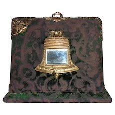 19th c. Victorian Photo Album & Inkwell Lap Desk Liberty Bell