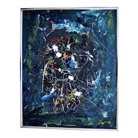 Andrew Norris Abstract Expressionist Acrylic Painting Modernism