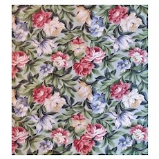 23 Yards Chintz Fabric Saison Floral Flowers
