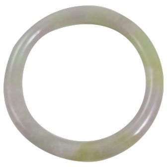 Vintage Genuine Jade  angle Bracelet