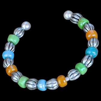 Colorful Ceramic B.Bold Beaded Bangle