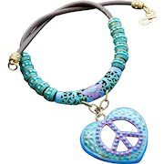 Love & Peace Necklace