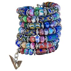 Krobo Bead Wrap Your Wrist Around This Stacking Bracelet