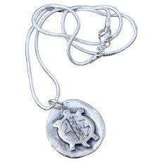 The spirit of turtle pendant