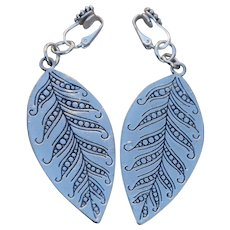Elements of the Earth & Spirit Clip-On Earrings